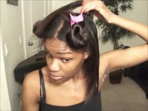 Elise's Hair Regimen using Creme Of Nature Argan Oil from Morocco