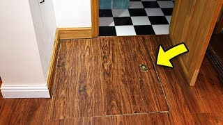 Student Discovers Secret Hatch In Floor That Lead To A Puzzling Scene
