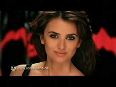 L'Oréal Telescopic Explosion Mascara Commercial (German) – Penelope Cruz