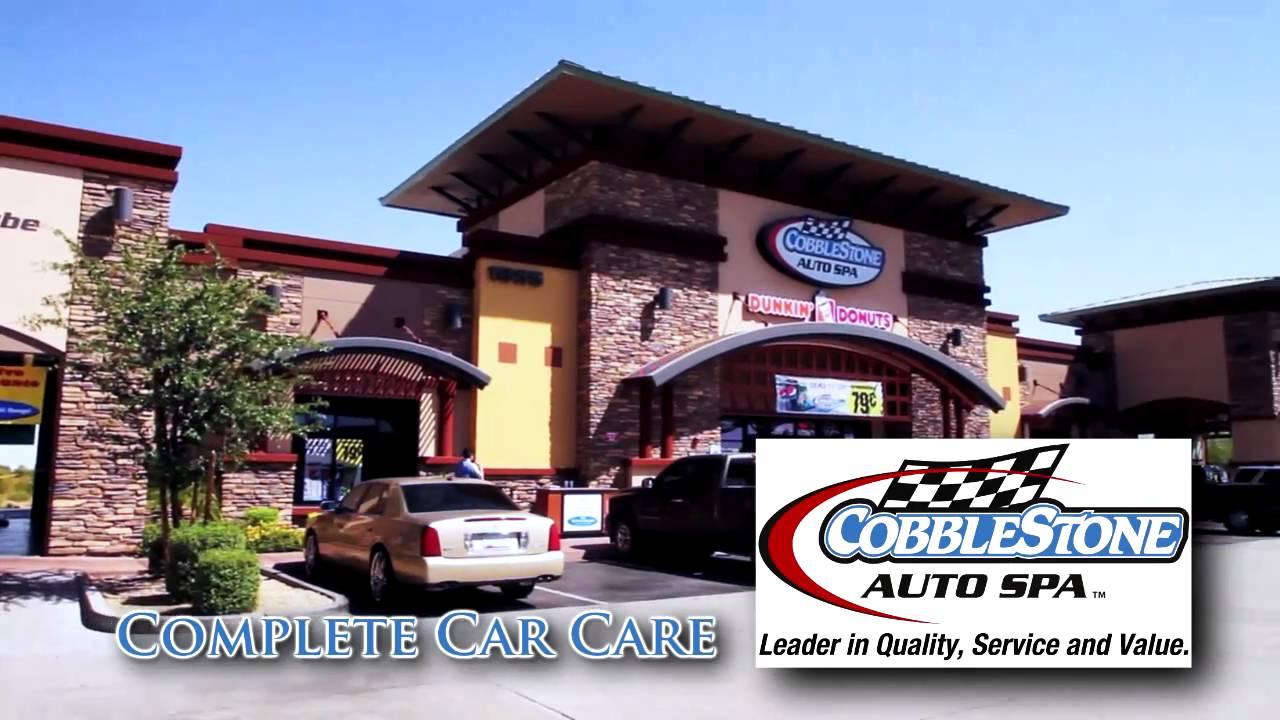 Cobblestone Car Wash : Cobblestone auto spa youtube