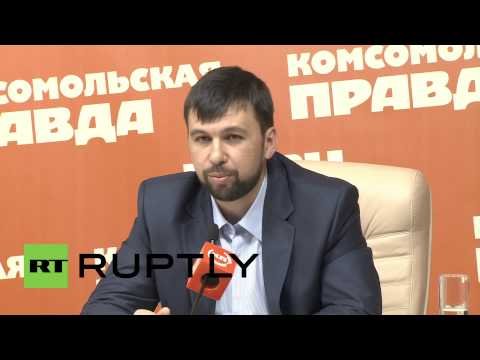 Russia: Donetsk leader Pushilin dismisses Western sanctions