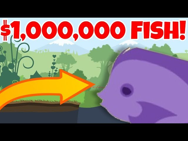 CATCHING THE 1,000,000 DOLLAR FISH!!  Cat Goes Fishing