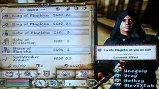 How to duplicate items in oblivion for xbox360(REALLY WORKS)
