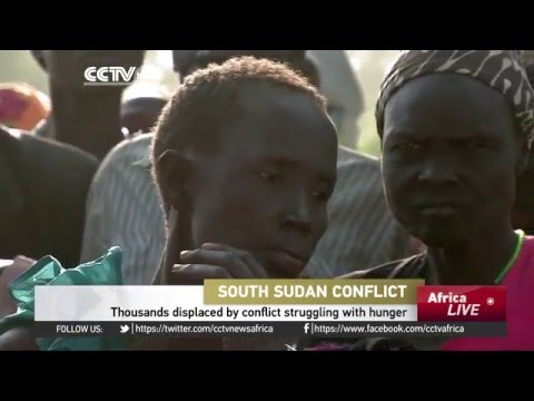 Thousands displaced by conflict in South Sudan