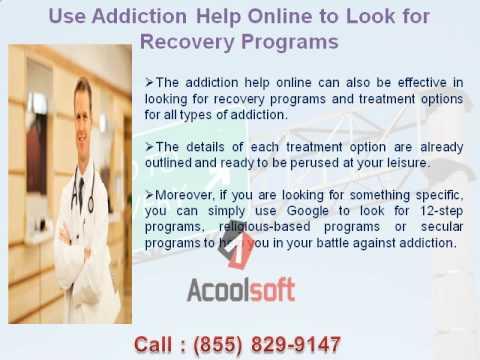 addiction help online