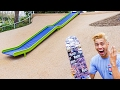 THIS PLAYGROUND IS A SKATEPARK?!