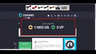 Como Ganhar +100 Pontos por Dia na Gokano - FUNCIONANDO 2016