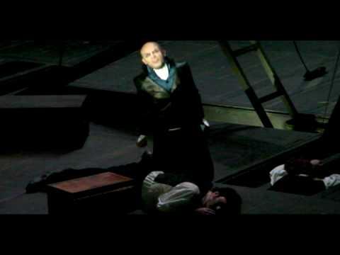 Stephane METRO in Javert's suicide (le suicide de Javert)