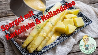 Spargel mit Kartoffeln und Sauce Hollandaise all-in-one im Thermomix