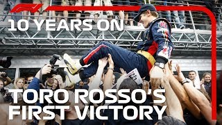 10 YEARS ON: Toro Rosso's Fairytale Monza Win