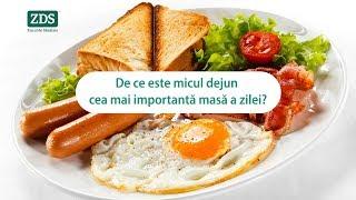 De ce este micul dejun cea mai importantă masă a zilei?