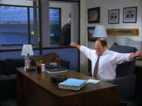 Seinfeld - George sleeping under his desk
