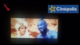 ALGO muy EXTRAÑO OCURRIÓ en el estreno de ALADDIN en CINEPOLIS