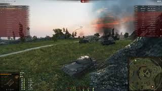 Везучий бой на Рудниках на танке об.416 !!!