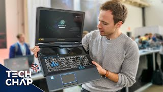 The Gaming Laptop with a SLIDING Keyboard! [Helios 700] 😮 | The Tech Chap