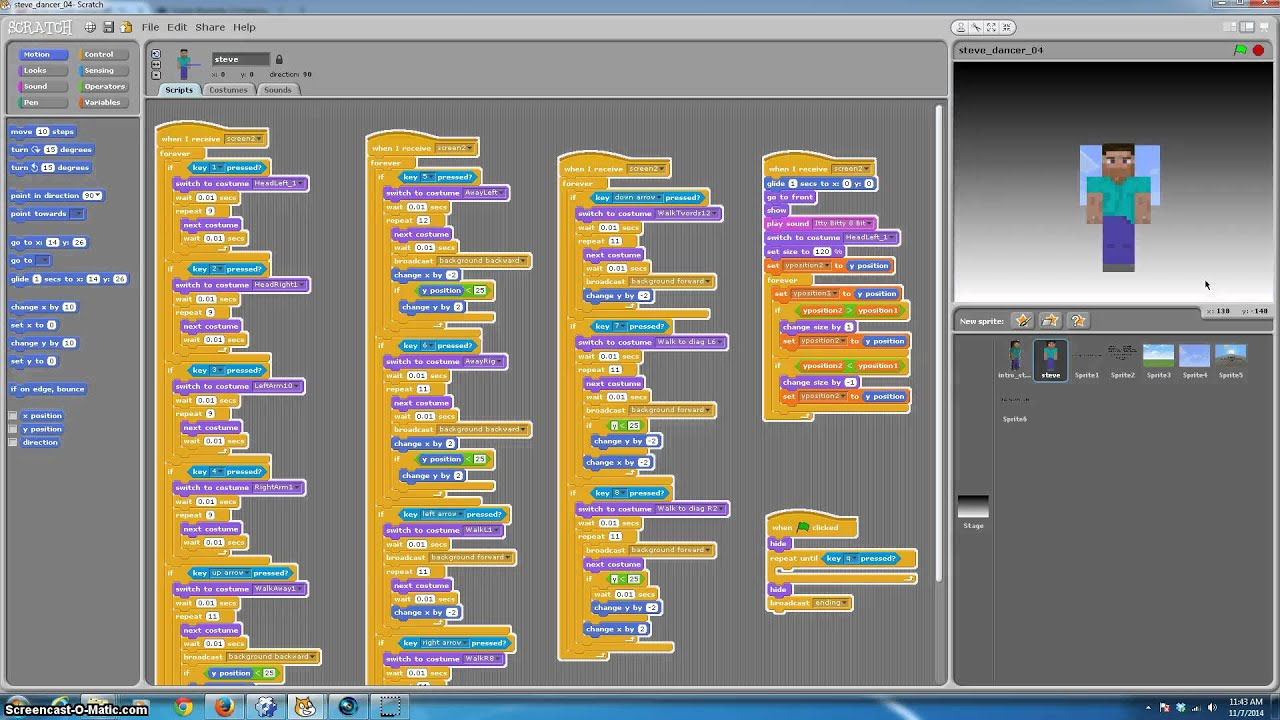 Adding Minecraft 3D Graphics To Scratch Programs Tutorial