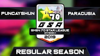 puncayshun vs BES Paracusia   Regular Season   GSA SM64 70 Star D1 Season 1