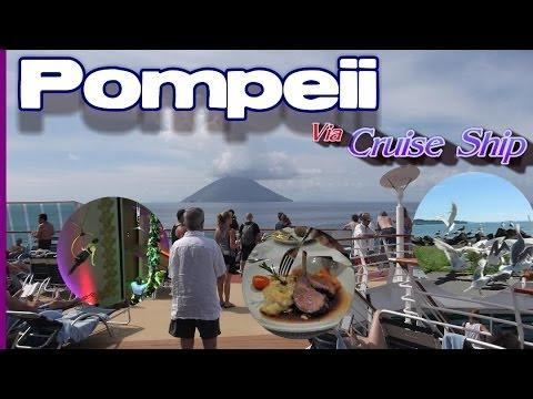 Pompeii Italy Today - We Visit Pompeii Via Cruise Ship To Salerno