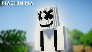 Marshmello - Alone but Minecraft Minecraft Machinima