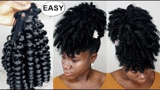 $2 Pineapple Ponytail SAVE YOUR MONEY GIRL AND DO IT YOURSELF- TUTORIAL YOU  MUST TRY - HOW TO