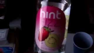 Review: Hint Fizz Sparkling Water Kiwi Strawberry Flavor