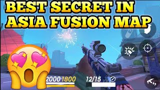 BEST SECRET IN ASIA FUSION MAP GUNS OF BOOM😱😱😱
