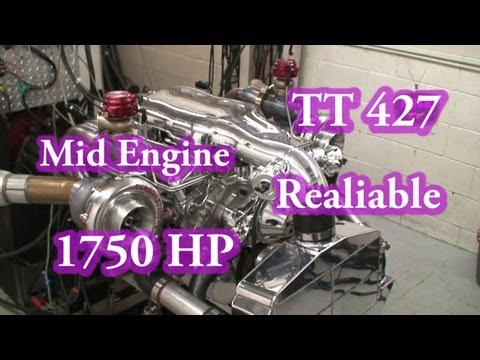 1750 HP Reliable Alien TT 427 SBC.  Nelson Racing Engines. For Camaro, Chevelle, Corvette, Etc.