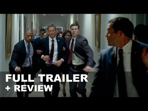 Olympus Has Fallen Official Trailer 2013 + Trailer Review - Gerard Butler. Aaron Eckhart : HD PLUS