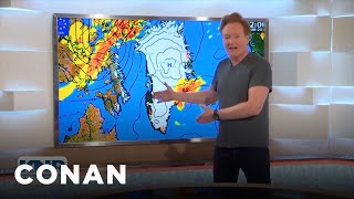 #ConanGreenland Preview: Conan Delivers A Weather Report In Greenland - CONAN on TBS