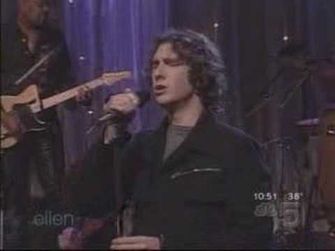 Josh Groban - Your Raise Me Up on Ellen Show