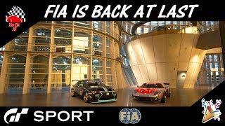 GT Sport - FIA Is Back Finally