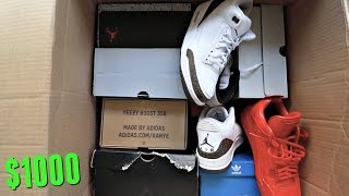 Unboxing The NEW $1000 Sneaker Mystery Box (CoolKicks LA) | Is This Better Than The Beater Box?