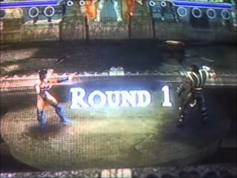 Mortal Kombat Shaolin Monks How to unlock kitana (desbloquear kitana)