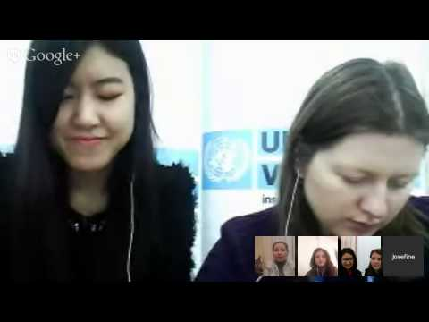 Google Hangout with UNV Kazakhstan: Let's Volunteer Together