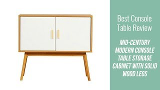 Mid-Century Console Table Review - Mid-Century Modern Console Table Storage Cabinet