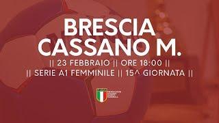 Serie A1F [15^]: Brescia - Cassano Magnago 24-22