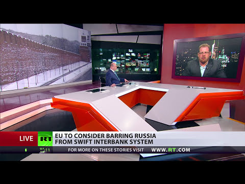 EU to consider barring Russia from SWIFT interbank system, Russian PM warns of tough response