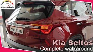 Kia Seltos Preview | Interiors, Exteriors & Features