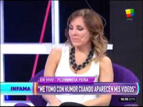 """Florencia Peña, sobre su video hot: """"Ya pasaron tres años y todavía no sabemos quién fue"""""""