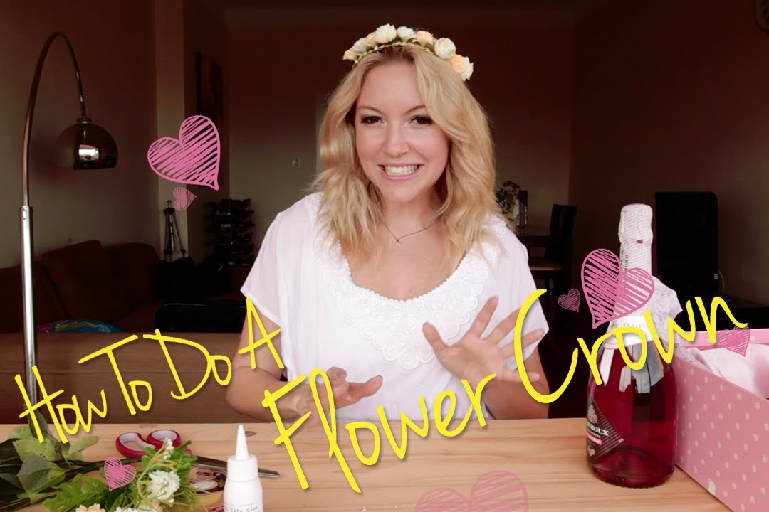 How to Make Your Own Flower Crown How to Make Your Own Flower