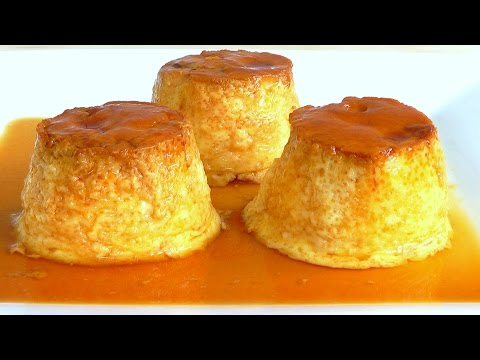 Creme Caramel - Custard Puddings How to make Leche Flan food