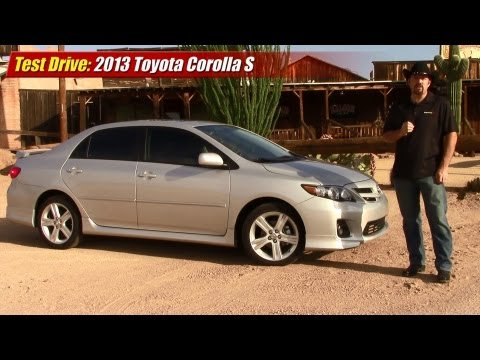 Test drive: 2013 Toyota Corolla S