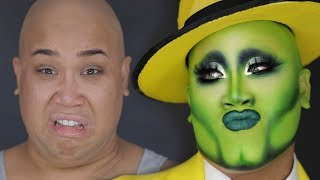 THE MASK MAKEUP TRANSFORMATION | PatrickStarrr