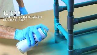 Tutorial DIY - Zapatero con tubos de PVC