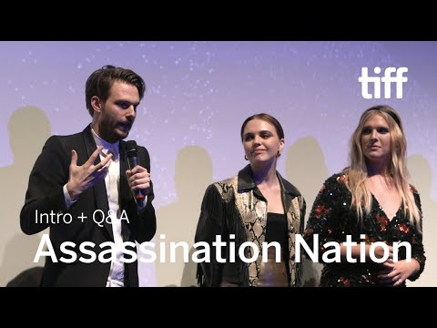 ASSASSINATION NATION Cast And Crew Q&A | TIFF 2018