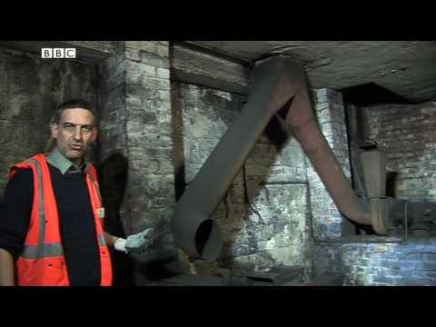 Inside St Mary's disused underground station (BBC Radio 4)