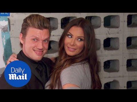 Cheeky Nick Carter with Lauren Kitt at Backstreet Boys premiere - Daily Mail