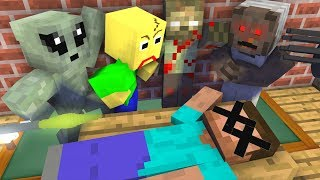 Monster School : RIP Herobrine Challenge - Minecraft Animation