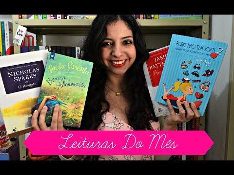 Minha Vida Literária - Leituras do Mês - Julho