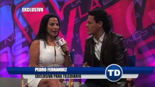 Pedro Fernández en exclusiva para Telediario